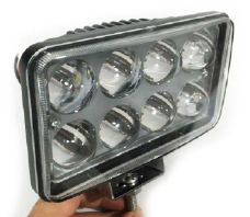 NEBLINERO 8 LED - CON LUPA 150MM X 90MM BIVOLT