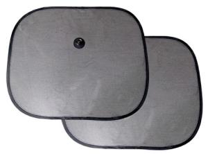 SOMBRILLA LATERAL NEGRA  44 x 36 cm - SET 2 UNIDADES